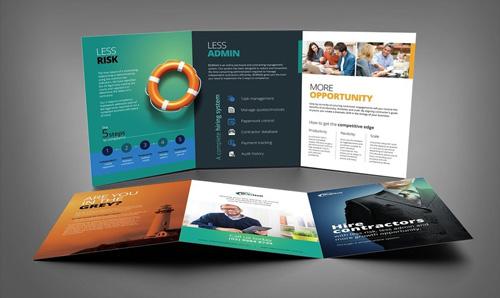 طراحی و چاپ بروشور تبلیغاتی در کرج