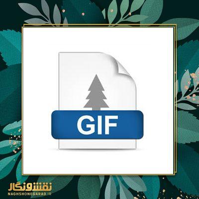 انتخاب فرمت gif در فتوشاپ