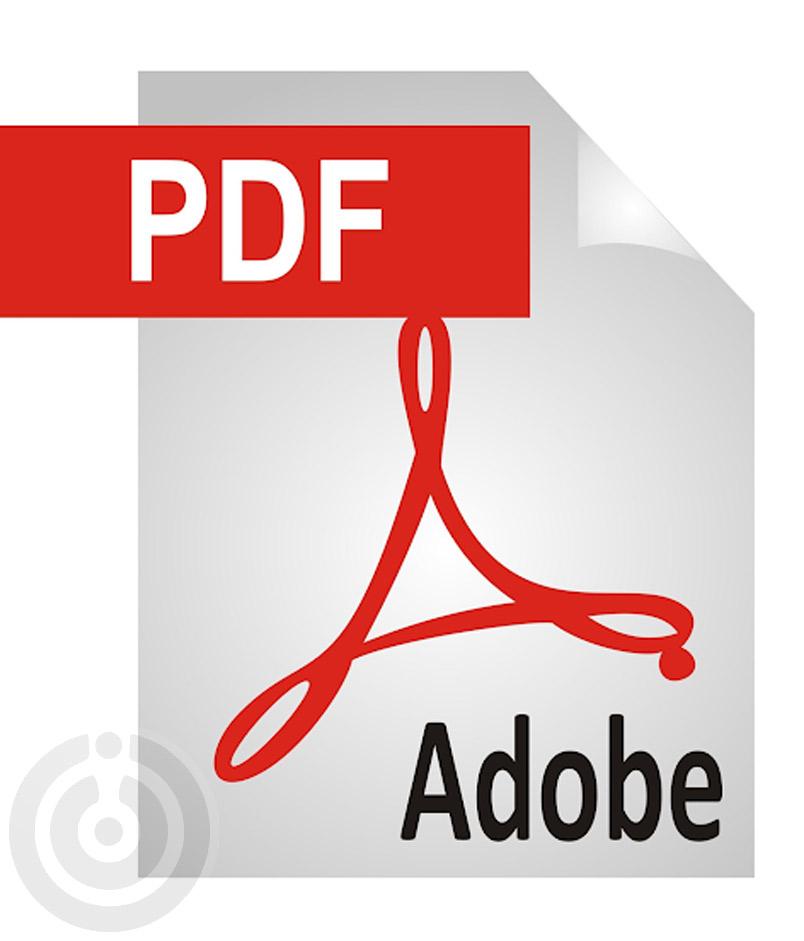 فرمت pdf از فرمت های ذخیره سازی در فتوشاپ