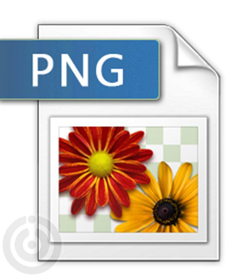 فرمت png از مرسوم ترین فرمت های ذخیره سازی در فتوشاپ
